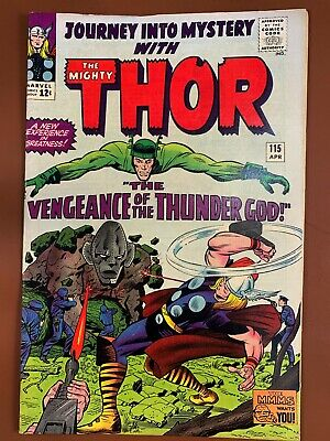 Journey Into Mystery Thor #115 Marvel Comics Silver Age