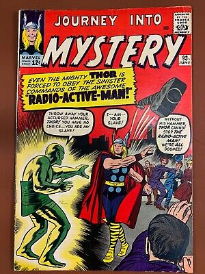 Journey Into Mystery Thor #93 Marvel Comics Silver Age
