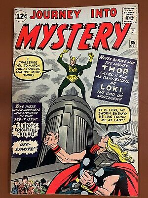 Journey Into Mystery Thor #85 Marvel Comics 1st appearance of Loki Silver Age