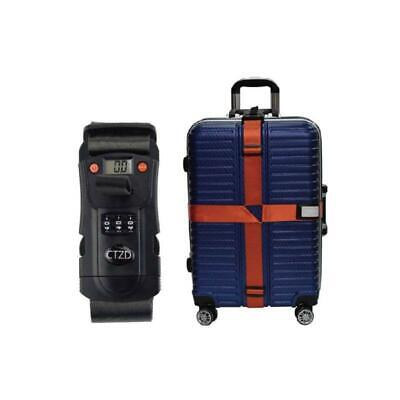 3-in-1 Design Luggage Strap With Electronic Scale And 3 Digit Lock For Suitcase