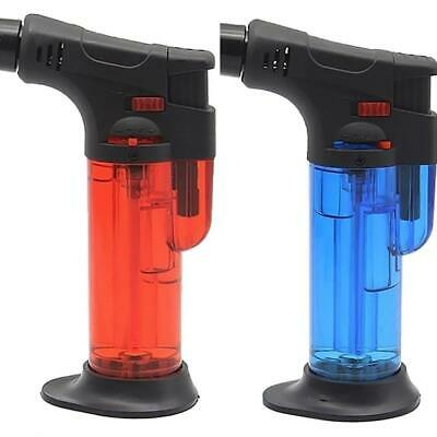 Hot Refillable Butane Jet Torch Lighter Cooking BBQ Flame Ignition Tool Boil
