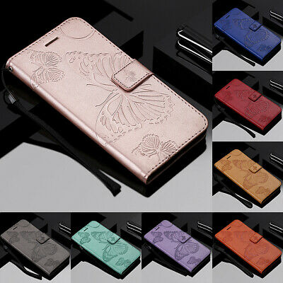 For Huawei Honor 8A 7S 10 20 Lite Embossing Leather Flip Wallet Phone Case Cover