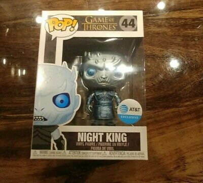 Funko Pop! Game Of Thrones Night King 44 - AT&T Exclusive! Free Shipping.