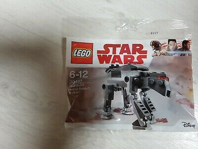 LEGO STAR WARS 30497 - Polybag First Order Heavy Assault NEUF SCELLE