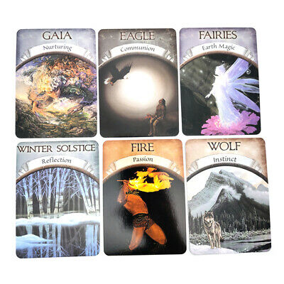 New 48Card Magic Archangel Oracle Cards Earth Magic Fate Tarot Deck Guidebook B3