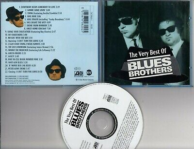 THE BLUES BROTHERS The Very Best Of CD SPECIAL EDITION IN BLUE CASE W STICKER