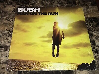 Bush the Band Rare Man On The Run Limited Edition Vinyl LP Sealed Gavin Rossdale