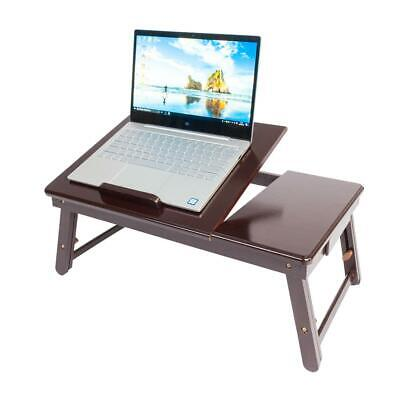 Popular Double Flower Folding Laptop Table Lap Desk Bed Tray Stand Pattern NEW