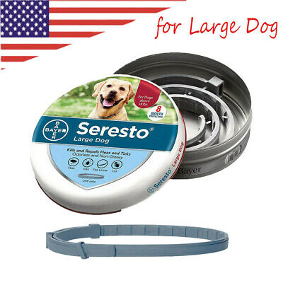 Bayer Seresto Collar Anti Flea & Tick Collar for Large Dog Pet Over 18 lbs (8kg)