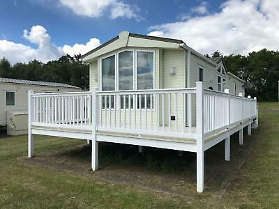 Luxury Static Caravan For Sale on Percy Wood Golf and Country park nr amble,