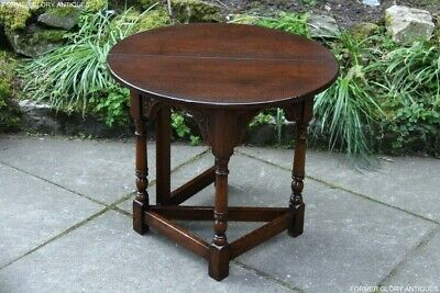 Chingford Reproductions Drop Leaf Gateleg Phone Tea Wine Coffee Side Table Stand