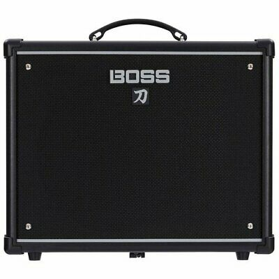 "NEW Boss Katana-50 50-Watt 1x12"" Guitar Combo Amplifier - Black"