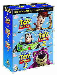Toy Story 1-3 - Collection (DVD, 2010, 3-Disc Set, Box Set)new sealed