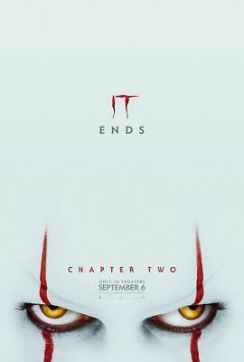 It Chapter Two -2 - original DS movie poster 27x40 D/S Adv B - 2019 Stephen King
