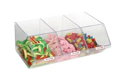 PM9713 - Pick & Mix Dispenser for Unwrapped Sweets: Single Section - 167mm (W) x