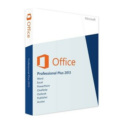 MS Microsoft Office 2013 Professional Plus PRO Business Software Key Download
