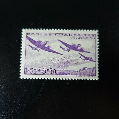 France Timbre Œuvres De L'air Aviation N°540 Neuf ** Luxe Mnh