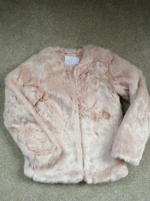 Gorgeous TU Pale Pink Super Fluffy Soft Jacket 11-12 Years