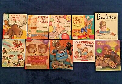 10 Lot Children's Picture Books Laura Numeroff: An If You Give ... Series & More