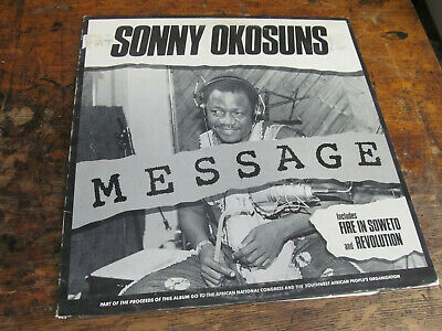 SONNY OKOSUNS Message LP MELANIE African VG+