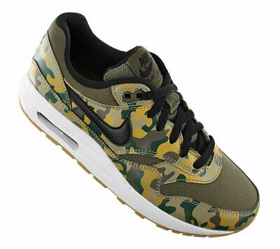 NUOVO NIKE AIR Max 1 Print Camouflage AR1139 200 Donna