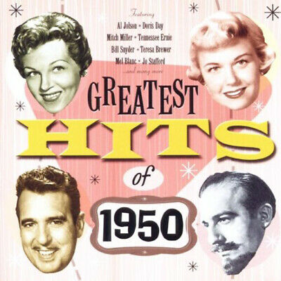 Various Artist The Greatest Hits Of 1950 Double Cd New