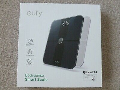 Eufy BodySense Smart Scales Large Display White Bluetooth Bathroom Scale T9140