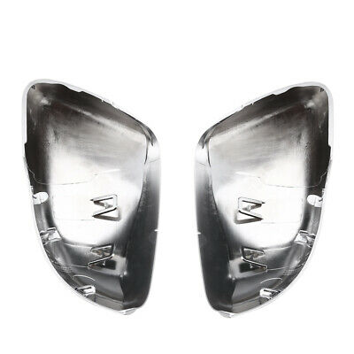 1 Pair Left Right ABS Shell Car Rearview Mirror Housing For VW Golf 6 MK6 Touran