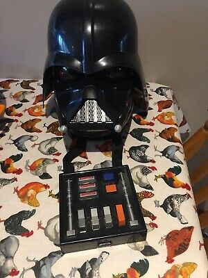 Adult Child Star Wars Darth Vader Voice Changer Helmet Mask Sounds Hasbro D15