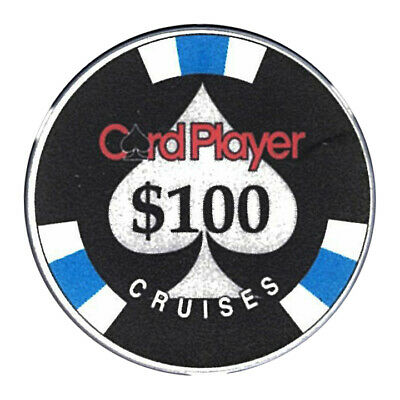 (1) Card Player Cruises $100 Chip Chipco Cruise Line *