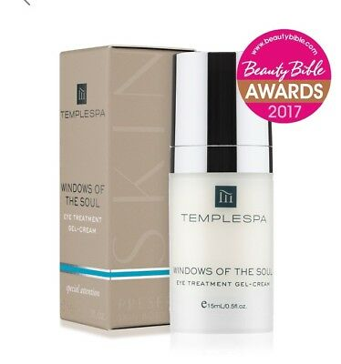 Temple Spa Windows Of The Soul Eye Cream New In Box Full Size Rrp £30