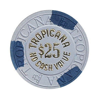 (1) Tropicana Casino Las Vegas NV $25 NCV Chip House Mold *