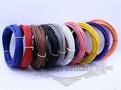 UL1007 24AWG 1.4MM DIY Cable Cord Multi Stranded Flexible Hookup Wire Strip 20M
