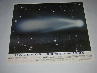 f052cbc69 VINTAGE 1985 HALLEY'S COMET (1986-2061) REPEAT PERFORMANCE ASTRONOMY ...