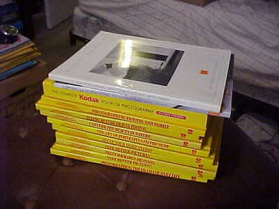 KODAK Photography Books lot of 11 including Library of Creative Photography good