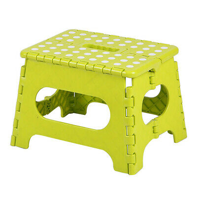 Folding Step Stool Portable Plastic Foldable Chair Child Portable Stool