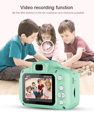 Mini Kids Digital HD Camera 2.0 Inch LCD Camcorder Child Girl Boy Toy Xmas Gifts