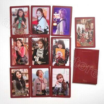 TWICE 3rd Special The Year Of Yes Official Photocard Preorder 10 Cards Set B