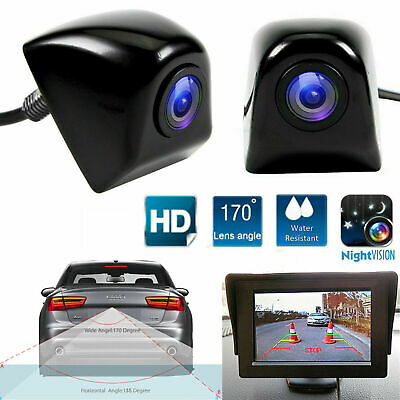 Wired Rear View Reverse Backup Car Parking Assist Camera Night Vision 170°