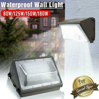 LED Wall Pack 80W/125W/150W/180W 5000K Commercial / Industrial Light Fixture