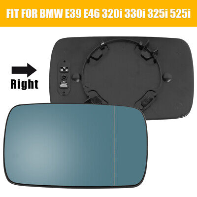 793RCH HEATED Mirror Glass BACKPLATE for various 09-17 BMW Passenger Side RH R