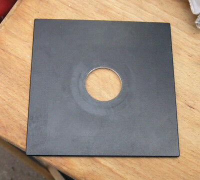 pattern  Sinar F & P fit  lens board panel with copal compur 0 34.7mm hole