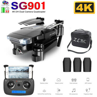 SG901 FPV Selfie Drone with 5G Wifi 4K HD Camera RTF Foldable RC Quadcopter US