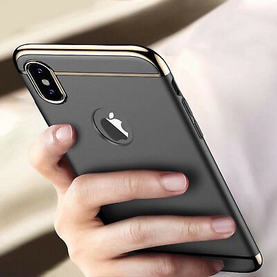 For iPhone X XS MAX XR Case Ultra Clear Heavy Duty Shockproof Slim Cover