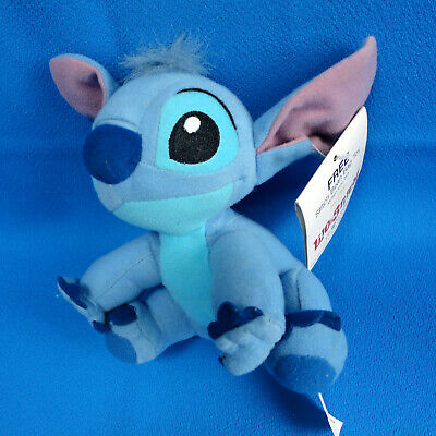 """6"""" seated blue mouse DISNEY MOVIE LILO & STITCH collectible promo item NEW + TAG"""