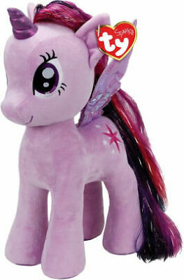 """Ty My Little Pony Soft Toy - Twilight Sparkle - 11"""" 28Cm Great Gift / Uk Seller"""