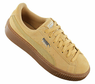 CHAUSSURES FEMMES SNEAKERS Puma Basket Heart Canvas Wns