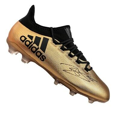 Dele Alli Signed Adidas X Boot - Gold Autograph Cleat