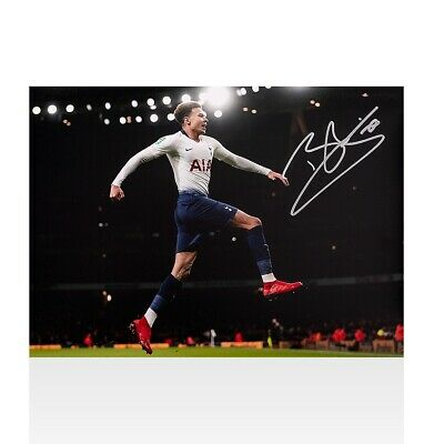 Dele Alli Signed Tottenham Hotspur Photo - North London Derby Goal vs Arsenal