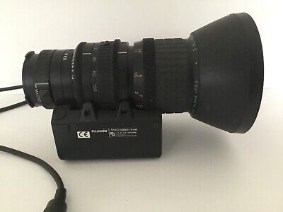 FUJINON TV Z CAMERA LENS S14X7.5BMD-D4M 1:1.4/7.5-105MM Zoom Macro JAPAN UNTEST